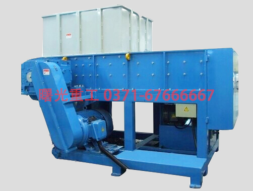 Plastic shredder for high quality