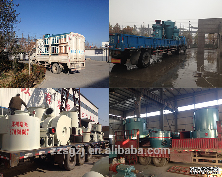 High efficiency dolomite grinding powder production line