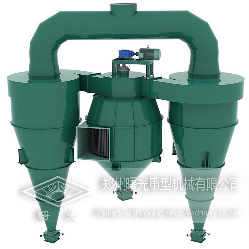 Supply selecting machine, quality selecting powder equipment